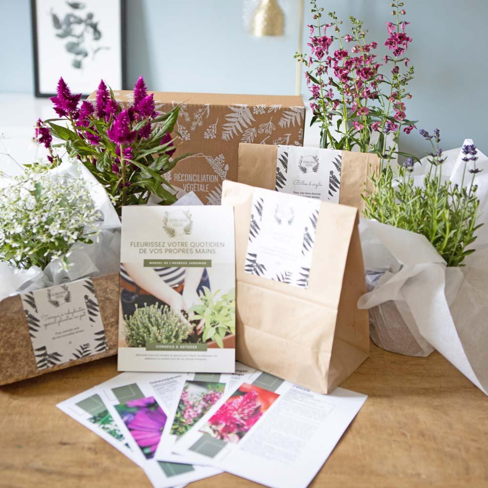 Kit de jardinage pour fleurir balcon