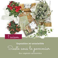 Box de jardinage. Abonnement 1 saison. Collection Automne 19