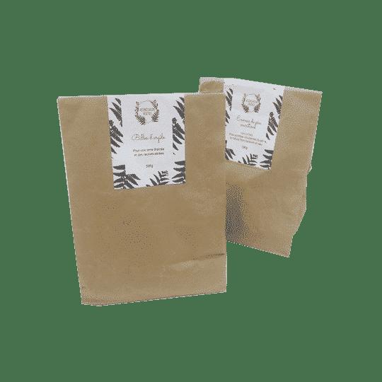 Emballage en carton recyclé. Box de jardinage eco-conçue.