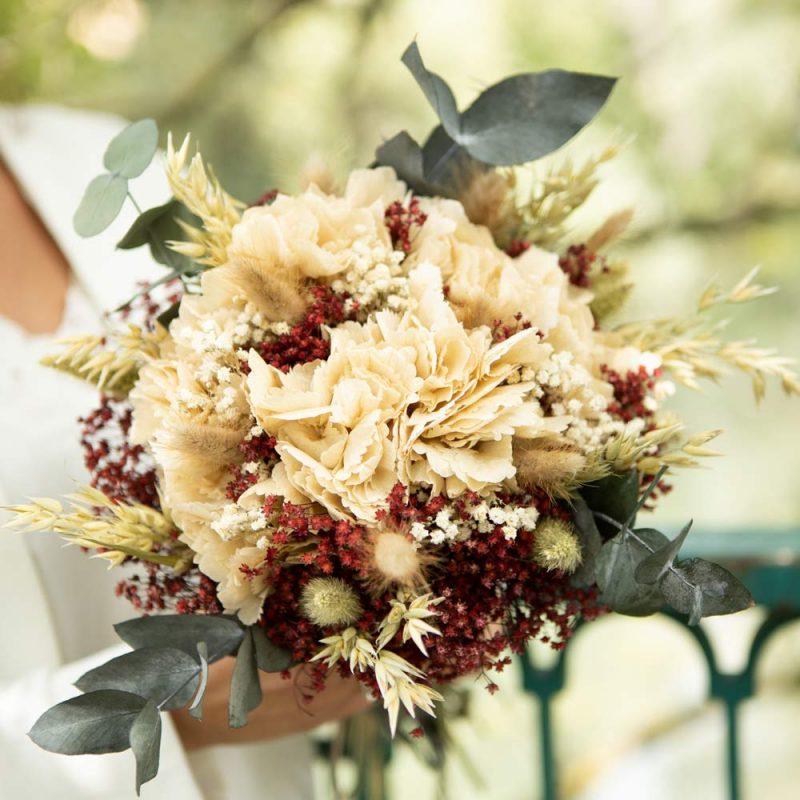 Bouquet de fleurs séchées pour sublimer vos tables de noël