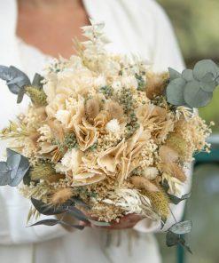 Bouquet de fleurs séchées naturel et champêtre