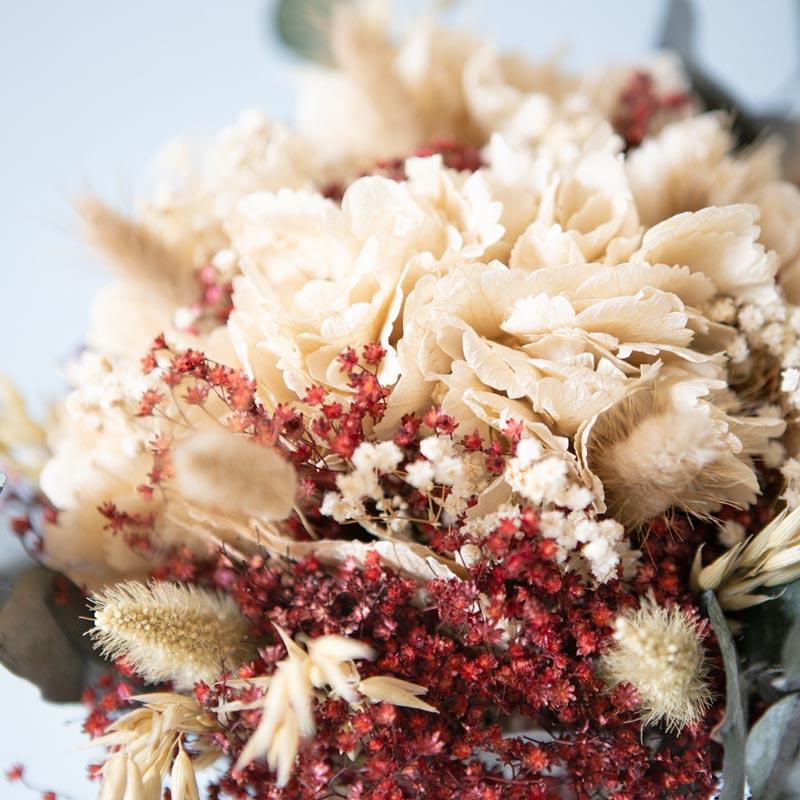 Bouquet de fleurs séchées pour décorer vos table de noel