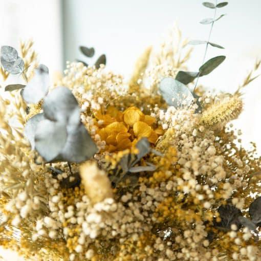 bouquet fleurs séchées naturel
