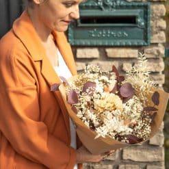 livraison bouquet de fleurs séchées