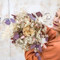 bouquet séché d'automne