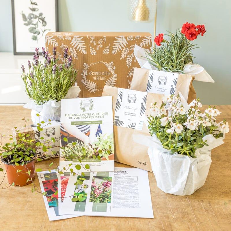 kit de jardinage pour balcon