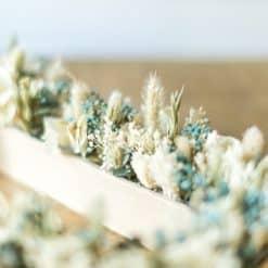 décoration pour mariage en fleurs séchées
